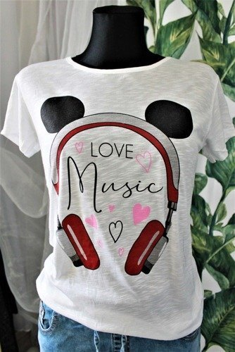 BLUZKA LOVE MUSIC