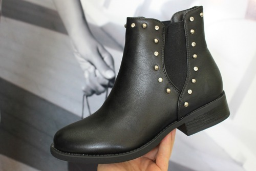 BOTKI  HQ927 BLACK