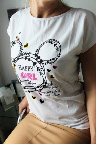 T-SHIRT HAPPY GIRL